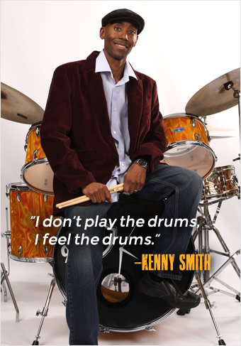 Drummer Kenny Smith